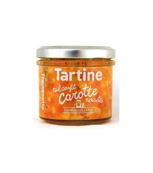Tartinade Carotte - ail...