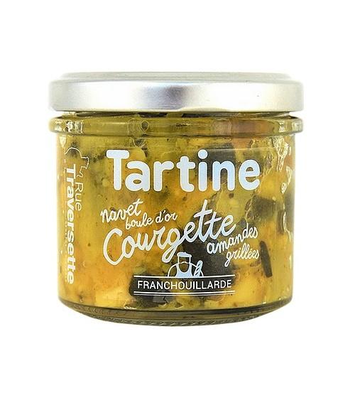 Tartinade Courgette- amande...