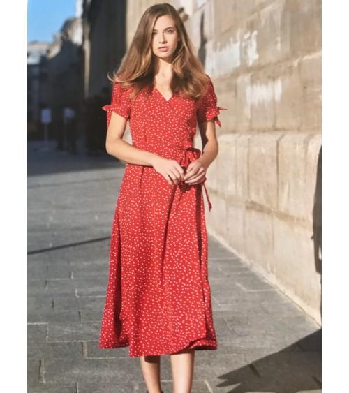 Robe rouge LEO