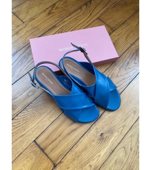 Sandale bleue