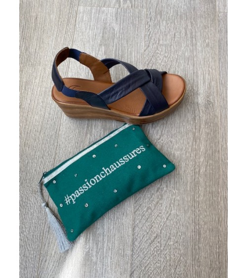 Sandale bleu marine