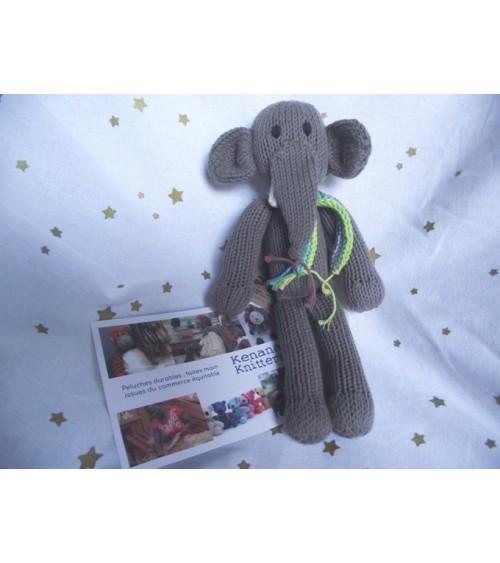 PETIT ELEPHANT EN COTON BIO...